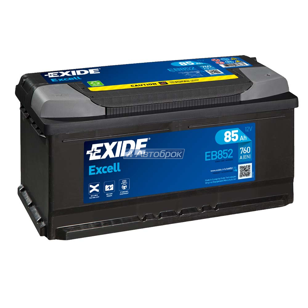 EXIDE EXCELL LB 85Аh 760A