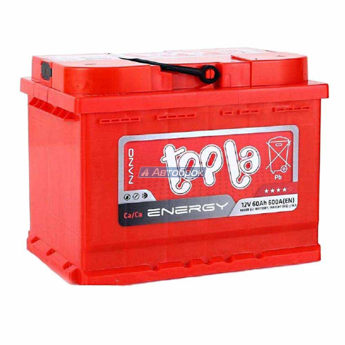 TOPLA ENERGY 60Аh 600A